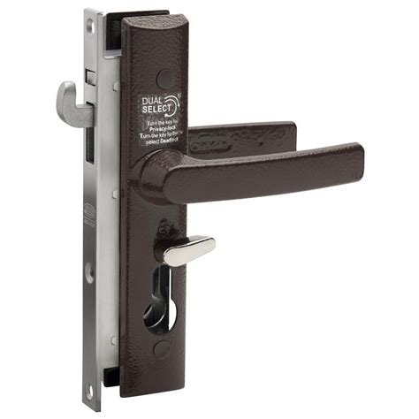 No Door Lock by Lockwood Security Screen Door Lock 8654 Brown No Cylinder