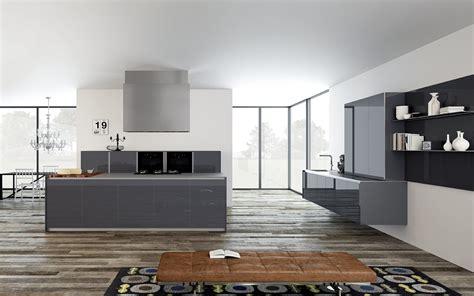 base per piano cottura cucine in vetro con superfici a specchio