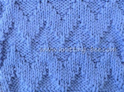 knit 1 purl 2 pattern knit purl chevron free knitting stitch knitting bee