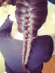 fishtails with braided hair french fishtail braid hairstyles hairstyles weekly