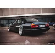 Tuning BMW 740i E32 Rear
