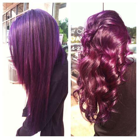 pravana violet hair color pravana magenta violet on asian hair