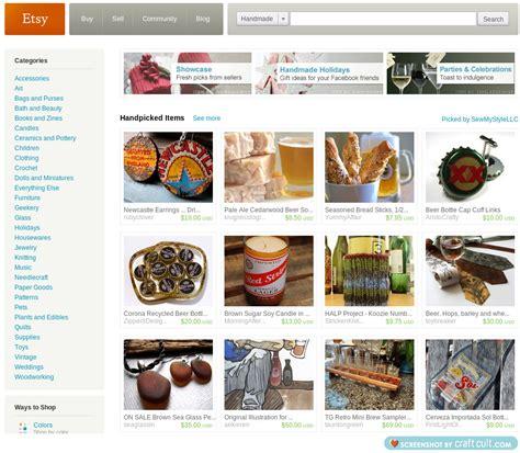 Handmade Websites Like Etsy - image gallery etsy website