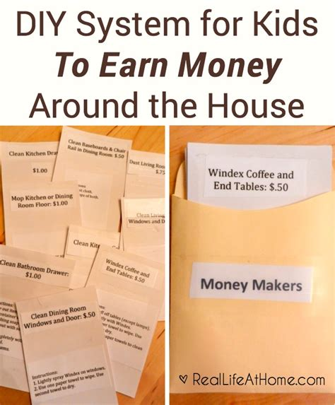 Ways Of Earning Pocket Money Essay by Ways For To Earn Money Around The House
