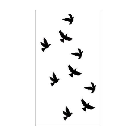 sparrow silhouette tattoo foto 2017