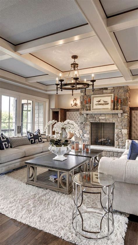 adorable cozy  rustic chic living room