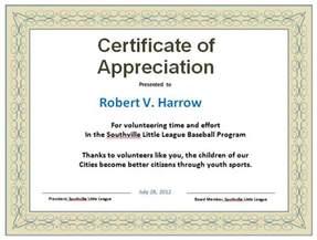 formal certificate of appreciation template 30 free certificate of appreciation templates and letters