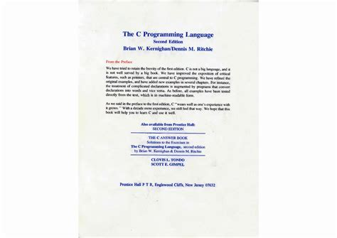 c language pattern programs pdf download programming in c kernighan and ritchie pdf