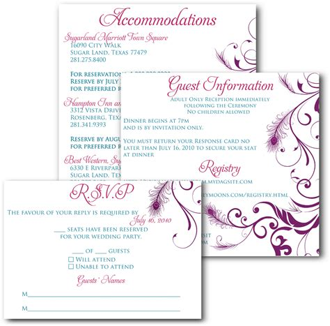 calligraphy wedding invitation template online