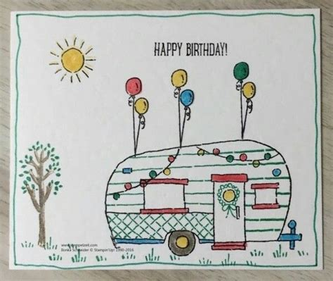 Motorhome Birthday Cards 1000 Images About Birthday Cards On Pinterest Birthday