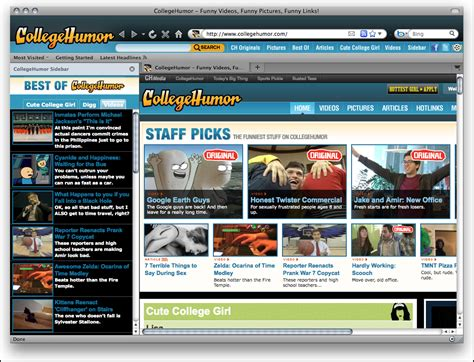 firefox theme creator online screenshot review downloads of freeware college humor