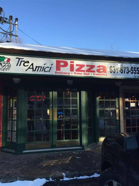 tre amici pizzeria closed pizza 336 depot rd