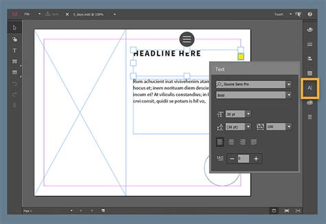 desain screen layout touch screen layout for windows adobe indesign cc tutorials