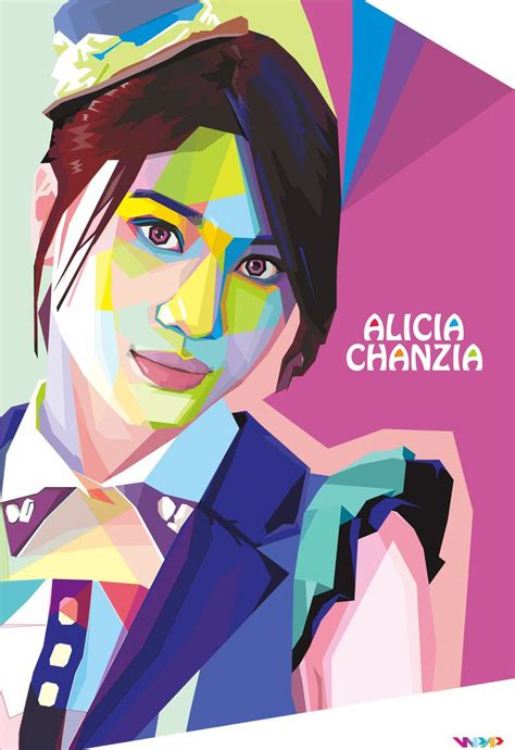 tutorial wpap corel x4 wpap alicia acha jkt48 by madiazroby on deviantart
