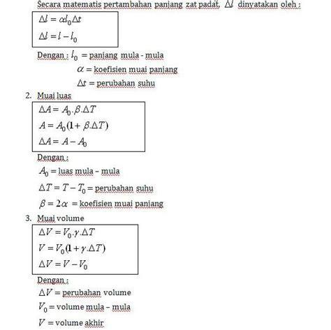 Termometer Panjang fisika smp kelas 7 belajar yuuuuksss