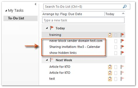 Remove Email From Search How To Remove Flagged Emails From Task List In Outlook