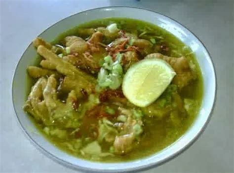 nikmatnya hidangan spesial  resep soto ayam ceker
