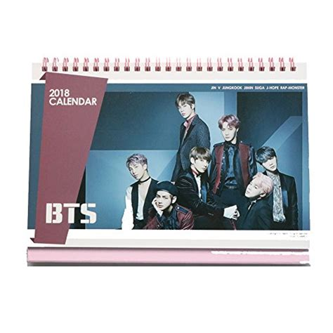 2018 Photo Desk Calender Wanna One bppop finally opens up their official page
