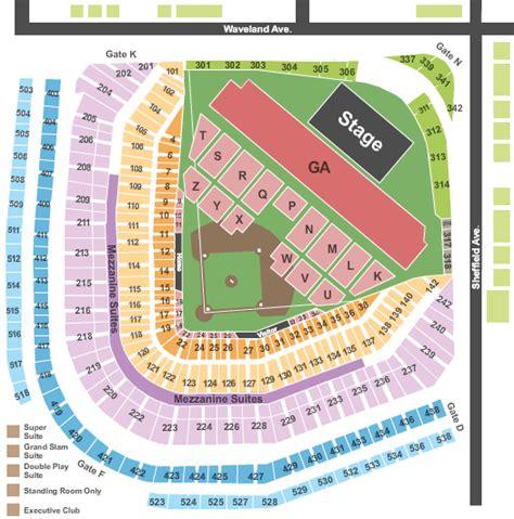 wrigley field concert seating cheap wrigley field tickets