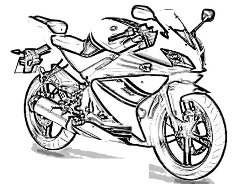 yamaha motorcycle coloring pages motorcycle coloring pages 12 coloring kids