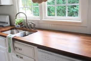 make your own stained finished wood countertops from