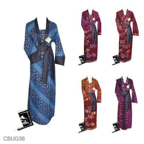 Gamis Obi Motif Unik baju batik gamis katun primis motif bunga batik cap