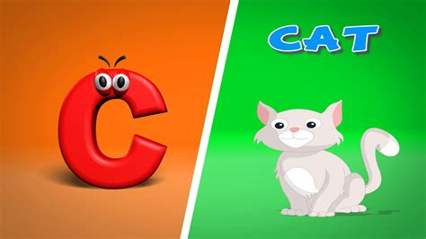 Alphabet C phonics letter c abc song alphabet c