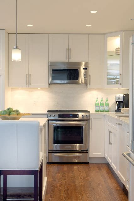 Burnaby Residence Contemporary Kitchen Vancouver Kitchen Cabinets Burnaby