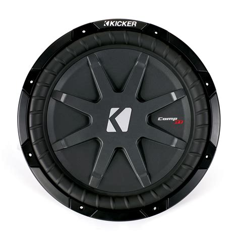 Kicker Sleting kicker cwrt12 12 inch 1 ohm dual voice coil comprt series