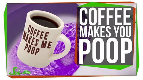 why does coffee make you go to the bathroom why does coffee make you poop