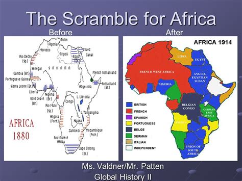 scrabble for africa the scramble for africa ppt