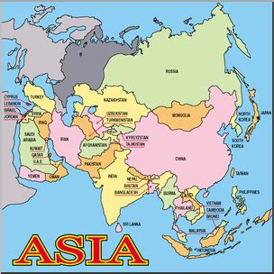 labelled map of asia labeled asia map my