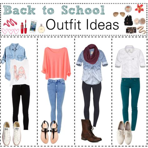 back to school ideas polyvore