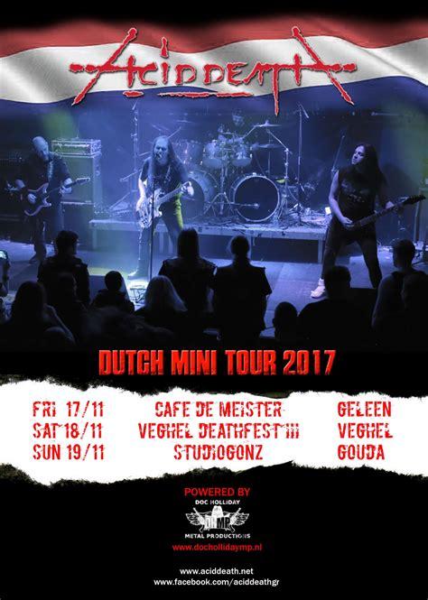 Tour Announced by Acid Mini Tour Announced