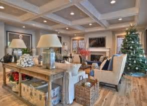 Decorating A Craftsman Style Home by Love The Table Behind The Couch With Lamps Craftsman