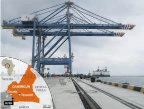 cameroon info net cameroun transports le port de