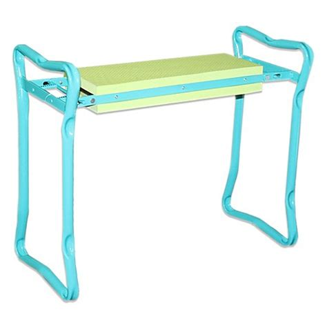 gardening bench kneeler kneeler bench bed bath beyond