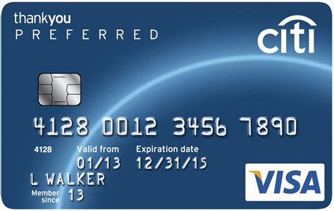 Is Visa Gift Card A Credit Card - visa city thankyou credit card