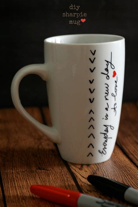 diy mug design kit made by me sharpie mugs the best of this life