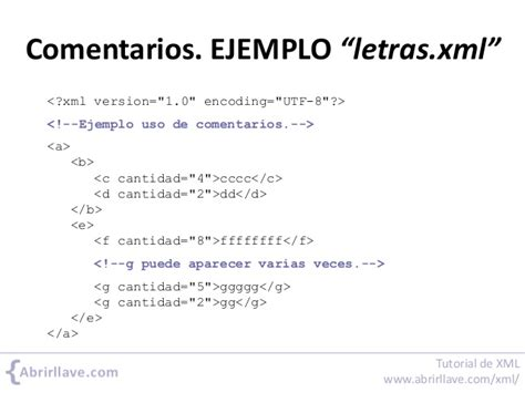 xml tutorial in pdf tutorial de xml en pdf