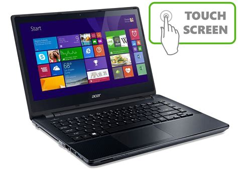 Laptop Acer 14 Inch Intel I3 acer e5 471p 14 inch touchscreen laptop intel i3 4gb ram 500gb rapid pcs