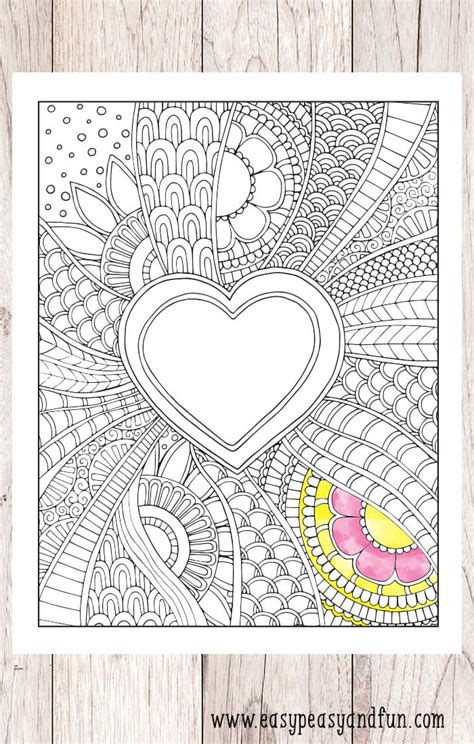 easy peasy coloring pages doodle heart coloring page easy peasy and fun