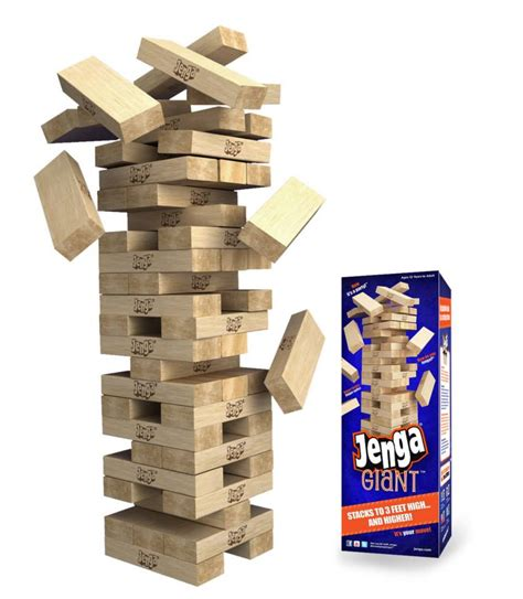 Or Jenga Introducing Jenga 174 The Thrills Stack Up All The Of Classic Jenga 174 But Much