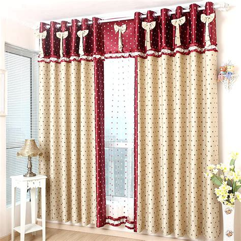 red kids curtains red double side jacquard blackout kids star curtains no