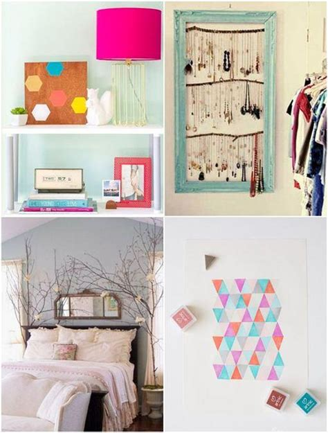 home made room decorations diy decorations for bedroom home design ideas