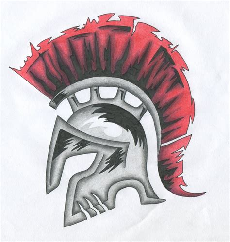 helm tattoo design spartan helm by fantasymystic on deviantart