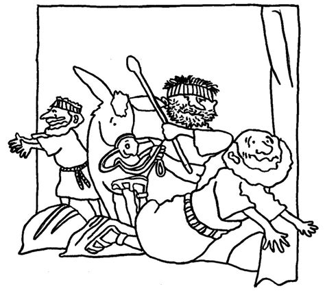 coloring pages for the samaritan parable of the samaritan the samaritan
