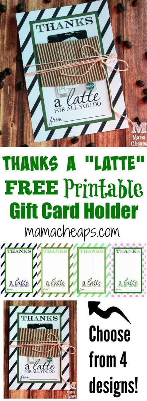 Thanks A Latte Card Template by 25 Best Ideas About Thanks A Latte On