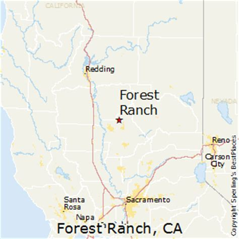 forest city california map best places to live in forest ranch california