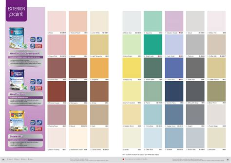 nippon paint solareflect colour chart nippon paint singapore